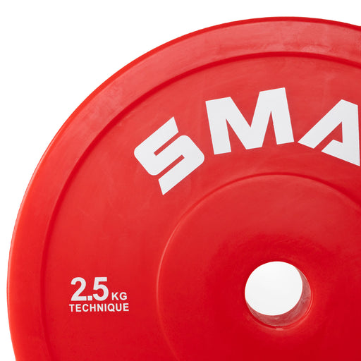 Pro Technique Bumper Plate 2.5kg (Pair)