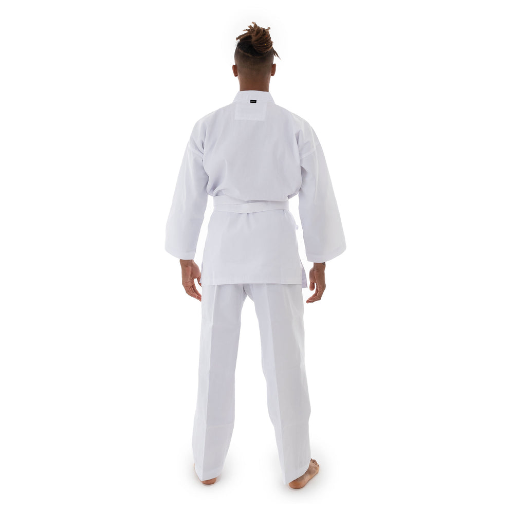 WHITE 8 Oz Karate Uniform Gi Size 0 Martial Arts NEW!
