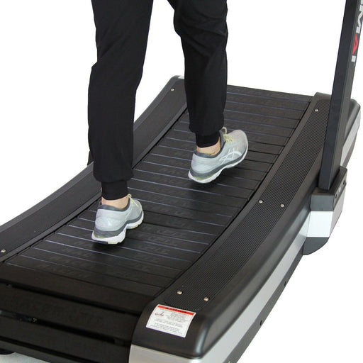 Racer Fit Treadmill in use, Curved Treadmill, Treadmill, CrossFit Treadmill