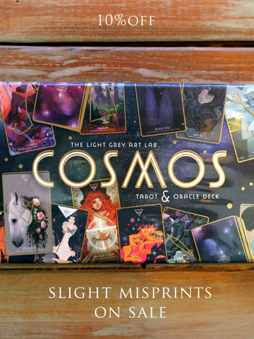 Cosmos Tarot & Oracle Deck : Slight Misprints!