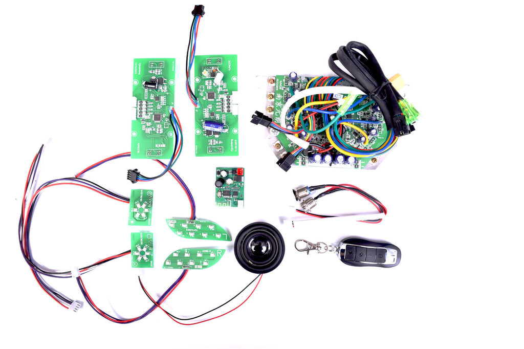 Hoverboard Repair Kit with BLUETOOTH and REMOTE - GREEN CIRCUITS