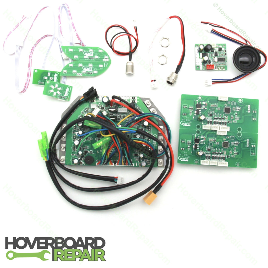 Hoverboard Circuit Board Kit with Bluetooth (Universal, Green)
