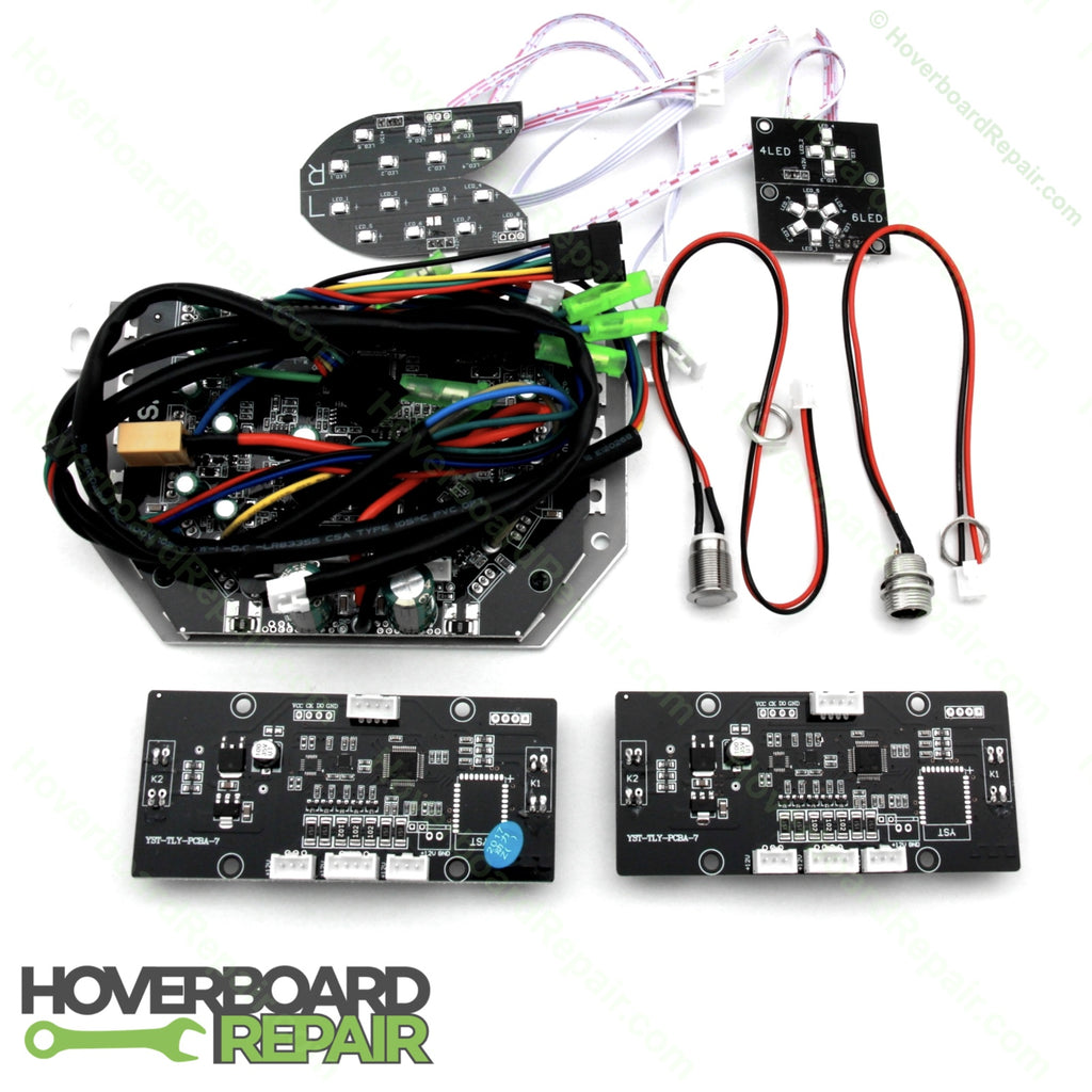 Hoverboard Repair Kit - Self Balancing 2019 Model (Black Circuits)