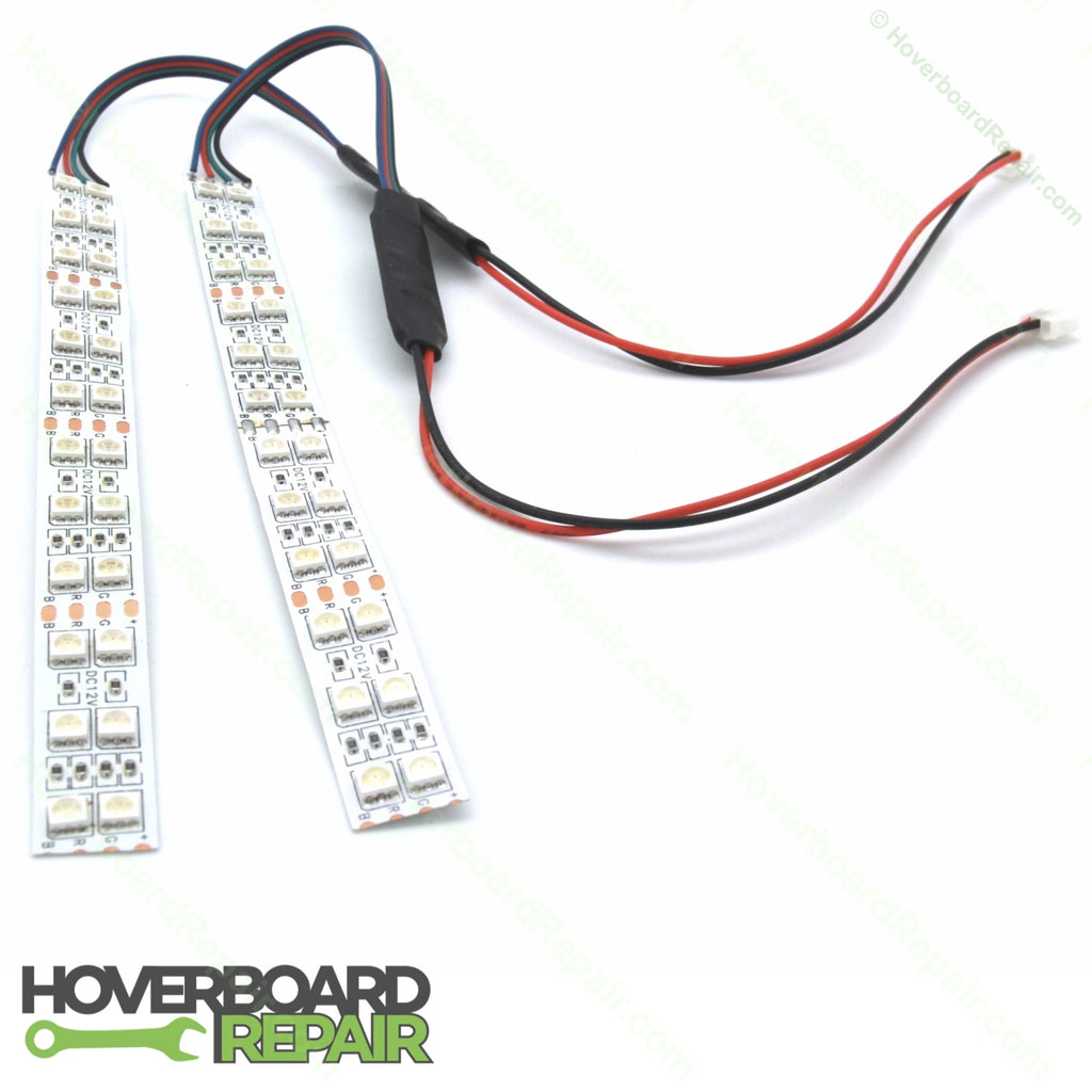 RGB LED lights for Hoverboard (Over the Wheel/Bumper)
