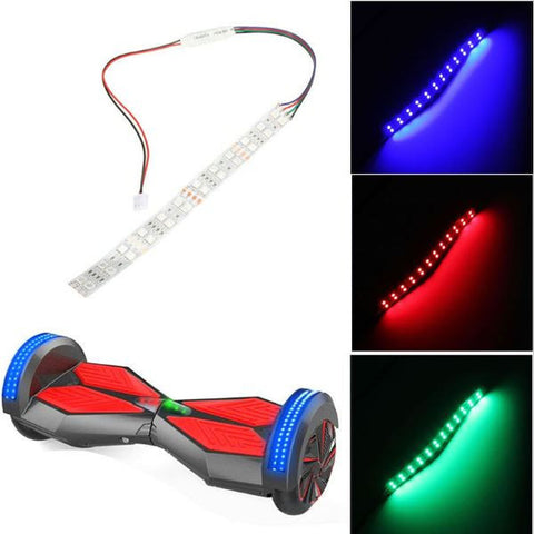 Over the Wheel/Bumper Electric Self Balancing LED lights