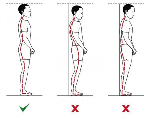 How to stand up straight