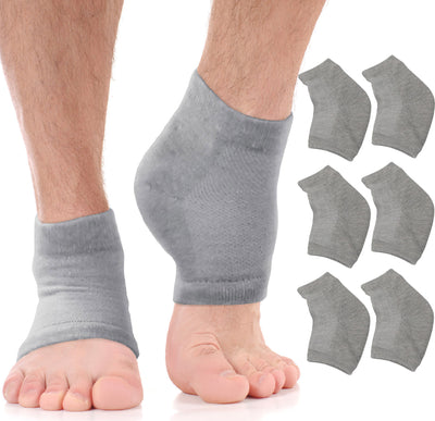 Moisturizing Heel Socks Cracked Heel Treatment (3 Pairs)