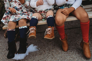 Knee Highs + Shortie Socks (All Sizes) | Winter Collections