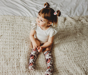 Knee Highs (Baby) | Fall Florals