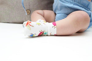Shortie Socks (Baby) | Fall Florals