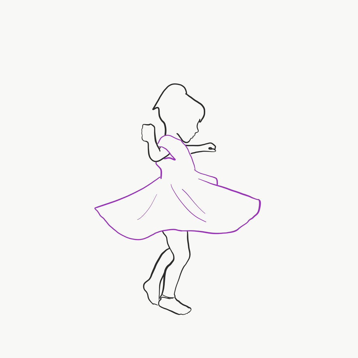 Twirl Dress (Big Kid) | Girl Powerful