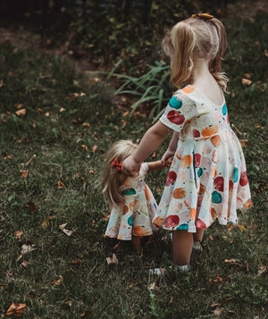 Dolly Dress | Fall Florals