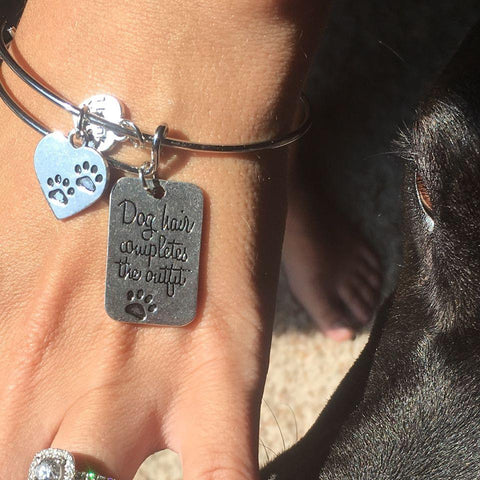 Dog Lover's Bangle Bracelet - FREE OFFER