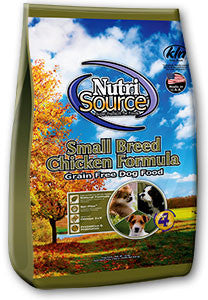 Nutri Source  Small Breed Chicken Formula 15lb.