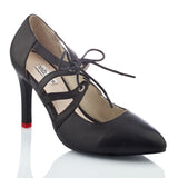 Bella Lace Up Pump