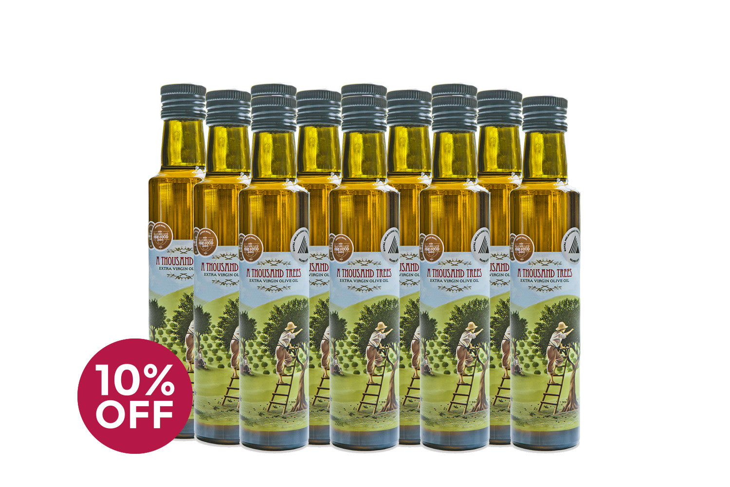250ML Extra Virgin Olive Oil Twelve Pack