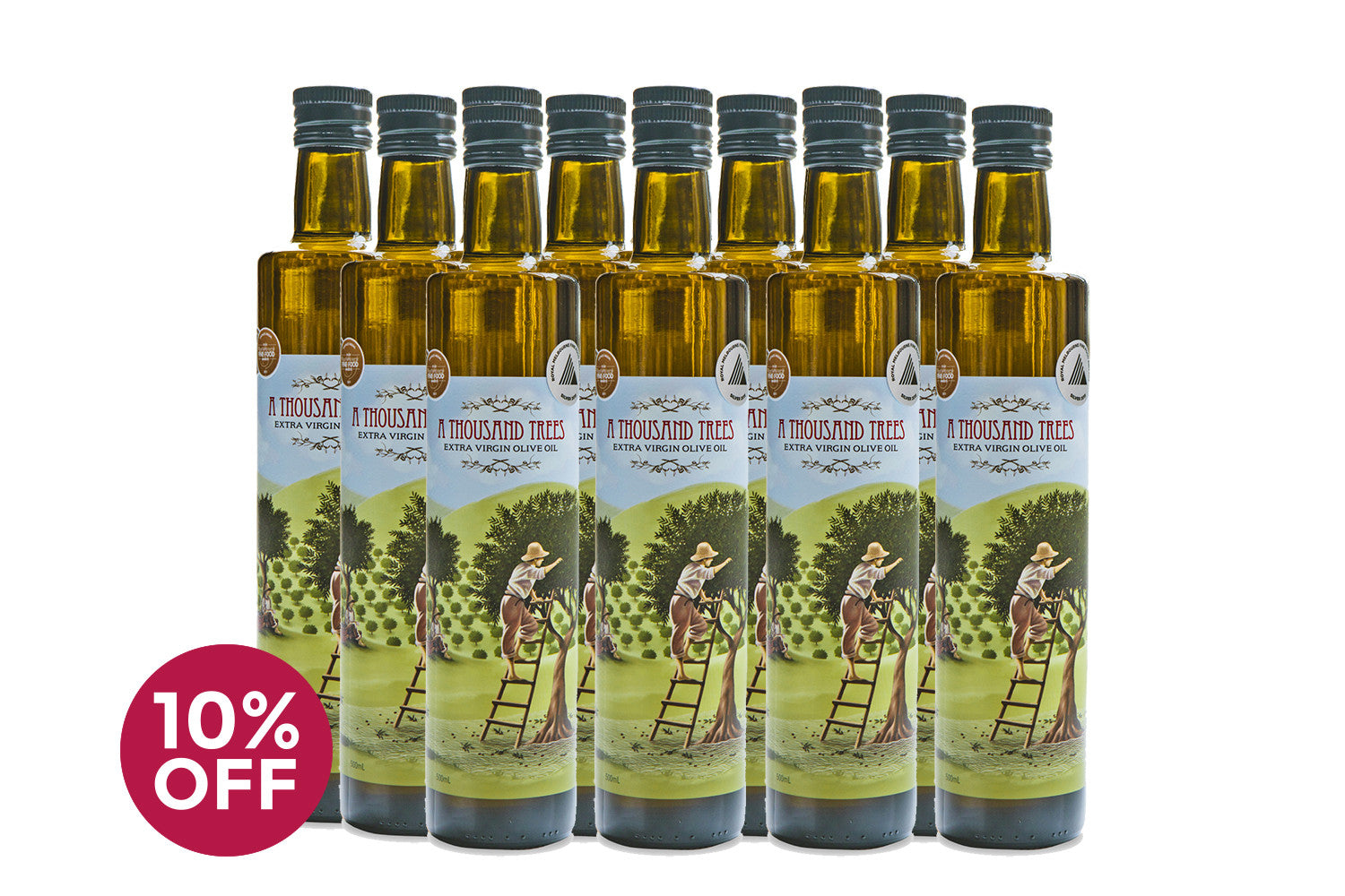 500ML Extra Virgin Olive Oil Twelve Pack