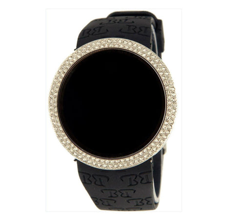 LED 14K Plated Gold Watch With Adjustable Band