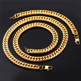 "Google_product_category - BUNDLE: Cuban Link Bracelet + 24"" Chain Combo"