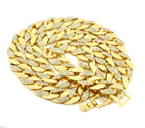 Google_product_category - Miami Cuban Link Set - 14K Gold Plated