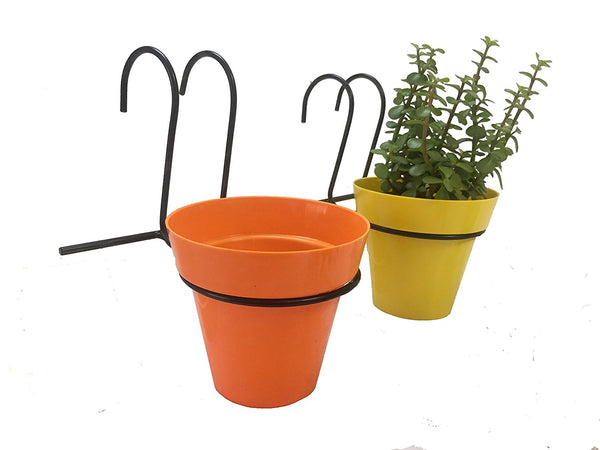 Grill mountable planters set of 4