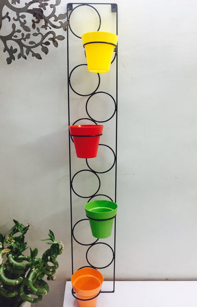 Wall Mountable Stand -4pot