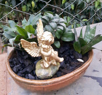 Angel for miniature gardens