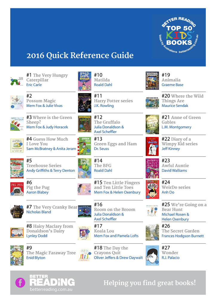 Singapore Books - Top 50 Kids books