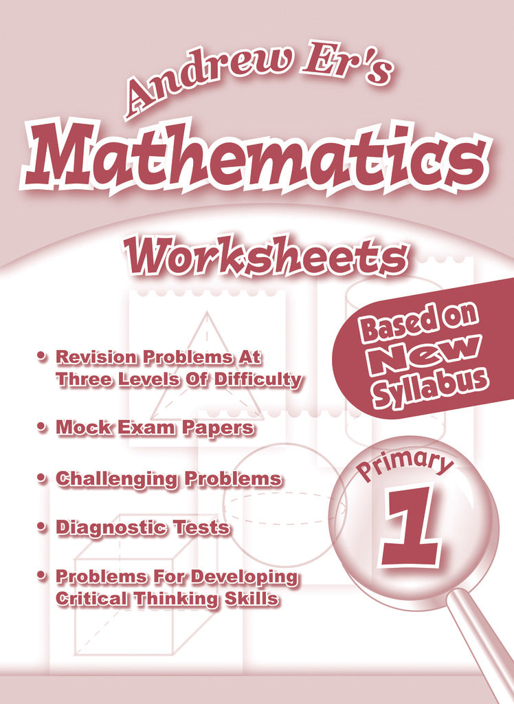 Andrew Er'S Maths Worksheets Primary 1