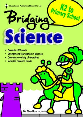 Bridging from K2 (Prep) to P1 Science - Singapore Books