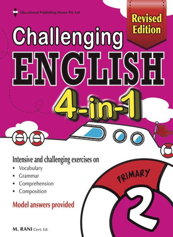 Challenging English 4-in-1 Primary 2 - singapore-books
