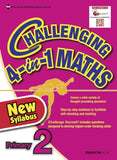 Challenging 4-in-1 Maths Primary 2 - Singapore Books