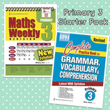 Starter Pack Primary 3 Maths & English - Singapore Books