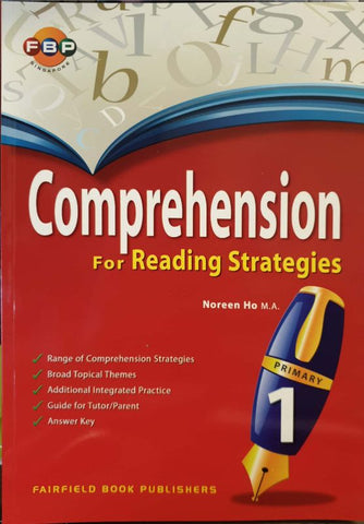 Comprehension for Reading Strategies Primary 1 - singapore-books
