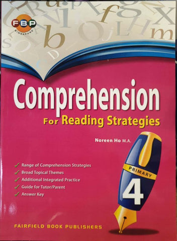 Comprehension for Reading Strategies Primary 4 - singapore-books