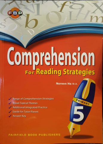 Comprehension for Reading Strategies Primary 5 - Singapore Books