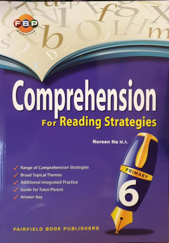 Comprehension for Reading Strategies Primary 6 - Singapore Books