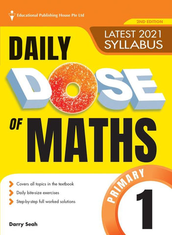 Daily Dose of Maths Primary 1 - singapore-books