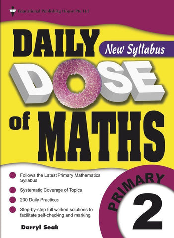 Daily Dose of Maths Primary 2 - singapore-books