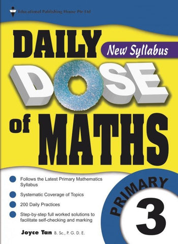 Daily Dose of Maths Primary 3 - singapore-books