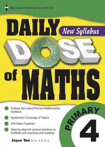 Daily Dose of Maths Primary 4 - singapore-books