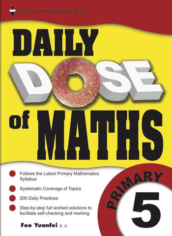 Daily Dose of Maths Primary 5 - singapore-books