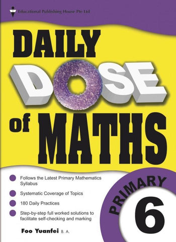 Daily Dose of Maths Primary 6 - Singapore Books