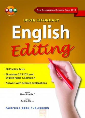 Upper Secondary English Editing (Year 9 & 10) - singapore-books