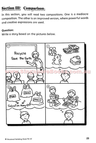 English Thematic Composition Writing Primary 3 - Buy ...