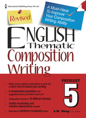 English Thematic Composition Writing Primary 5 - singapore-books