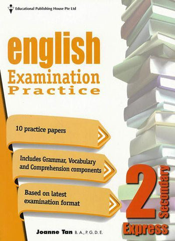 English Examination Practice Secondary 2 (Year 8) - singapore-books