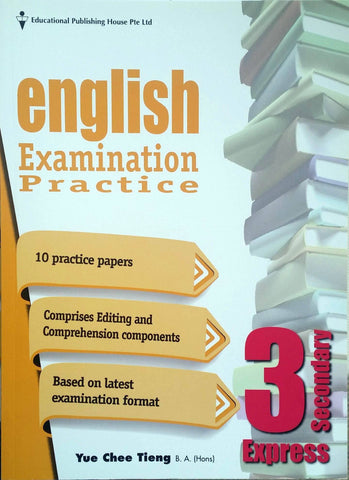 English Examination Practice Secondary 3 (Year 9) - Singapore Books