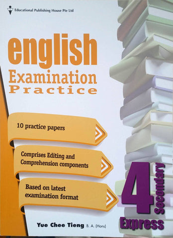 English Examination Practice Secondary 4 (Year 10) - Singapore Books