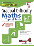 Gradual Difficulty Maths Topical Tests (New Syllabus) Primary 4 - Singapore Books